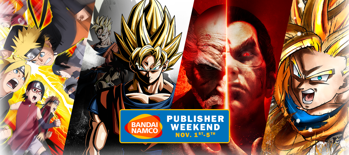 Bandai Namco Publisher Weekend on Steam Nov. 1st-5th
