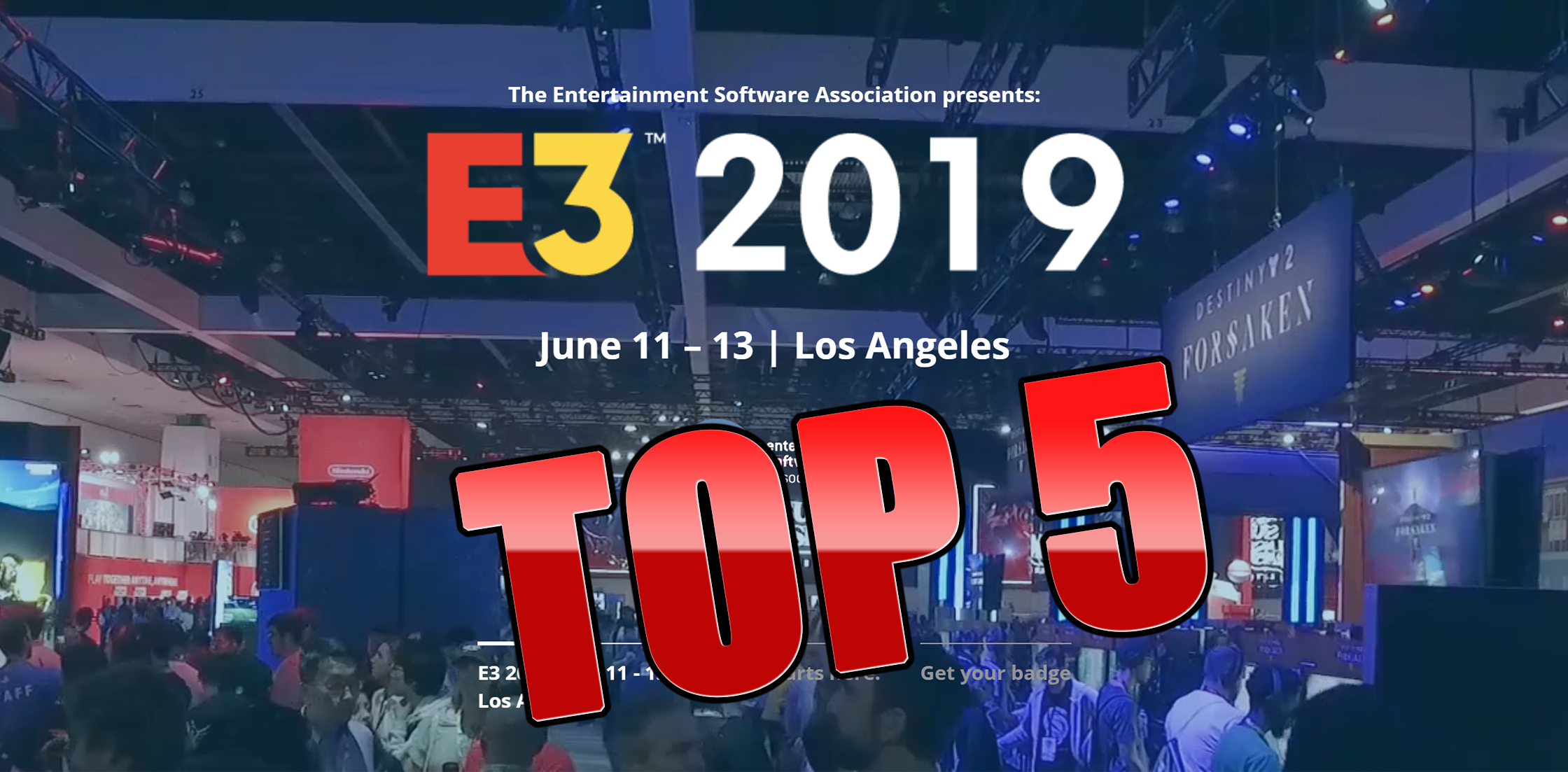 E3 2019: Top 5 Hyped Games at the World's Biggest Gaming Event