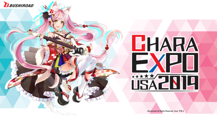 CharaExpo USA 2019 Latest Information