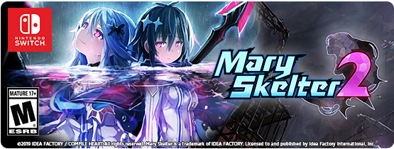 Mary Skelter 2 Launches on Nintendo Switch on October 22